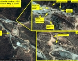 On-going Activity at North Korea's Punggye-ri Test Site  Photo