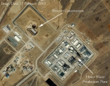 Iran Constructing the 40 MW Heavy Water Reactor at Arak Despite Calls Not to Do So by the European Union and the IAEA Board of Governors Photo