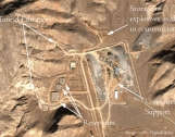 New Satellite Images Show Tunnel Construction at Esfahan Facility in Iran  Photo