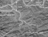 Satellite Images of May 28, 1998 Test Site  Photo