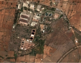 New Satellite Image of the Indian Gas Centrifuge Facility at Mysore  Photo