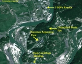 North Korean Yongbyon nuclear center, August 31, 2013  Photo