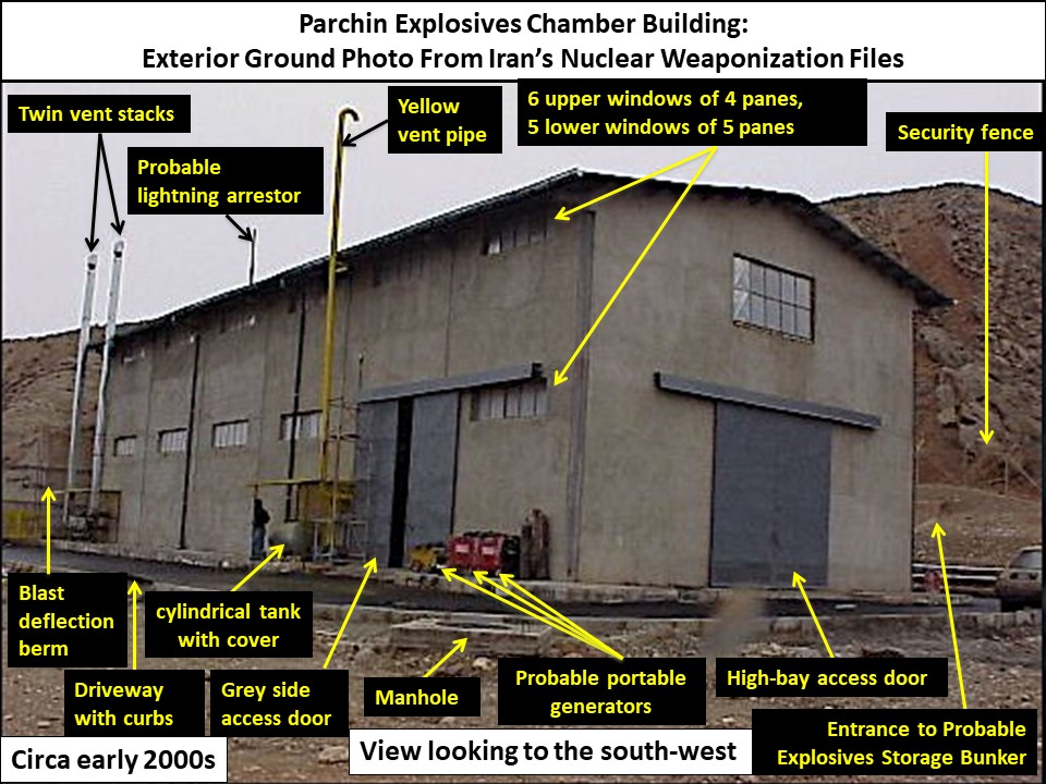 New Information about the Parchin Site:   Institute for