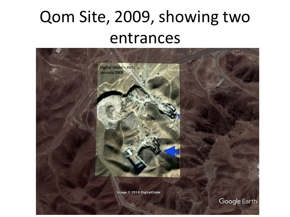 It Fits! Qom Site Layout | Institute for Science and International ...