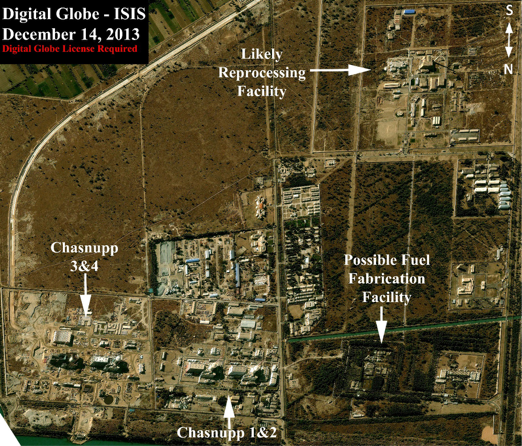 Pakistan's Chashma Plutonium Separation Plant: Possibly Operational